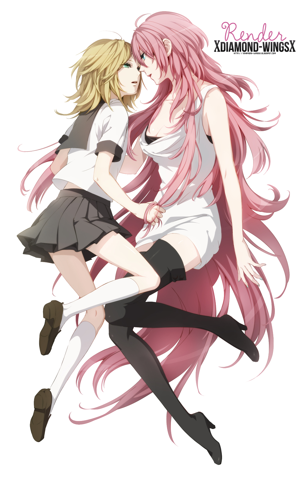 PNG- - Rin x Luka