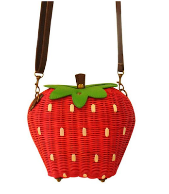 Strawberry summer purse