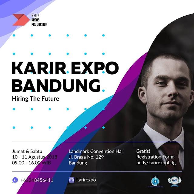 Bursa Kerja Bandung Gratis (Karir Expo)