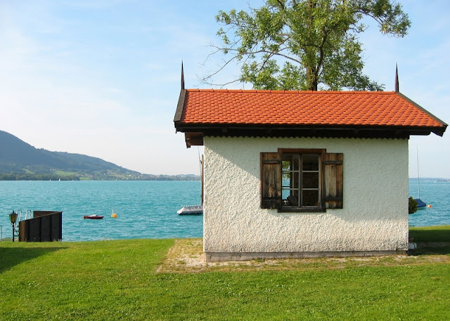 Mahler's composing cabin at Steinbach-am-Attersee (Photo Wikimedia/ Furukama)