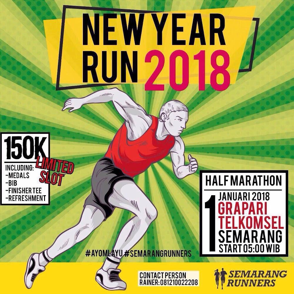 Semarang Runners - New Year Run • 2018