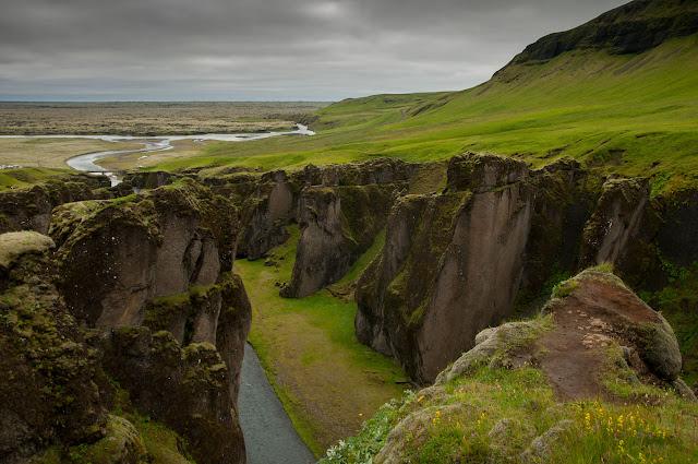Fjaðrárgljúfur lugar de rodaje de Thor