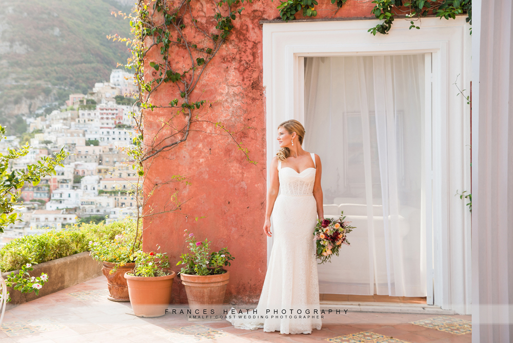 Wedding portrait at Hotel Marincanto