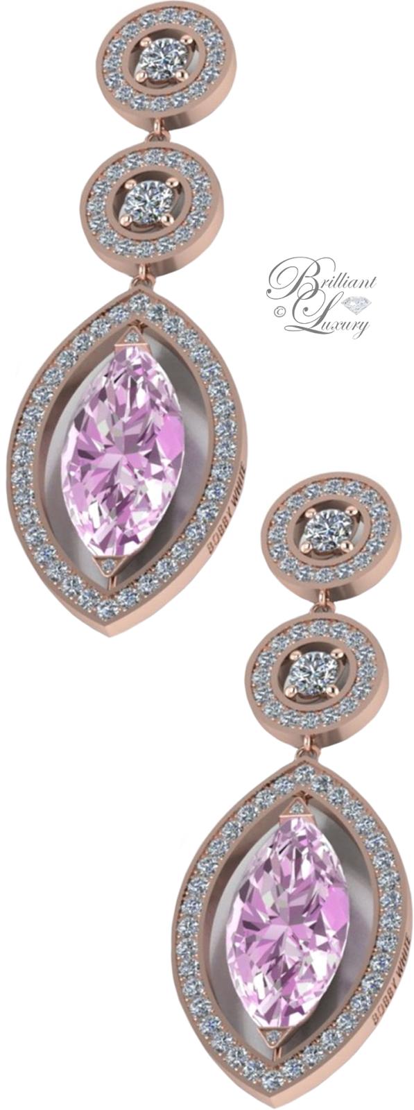 Brilliant Luxury ♦ Bobby White Mora Earrings