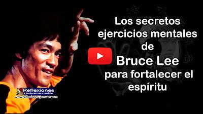 Bruce Lee, no solo practicaba artes marciales sino que era su filosofía de vida. Él desarrolló su propio concepto filosófico con afirmaciones muy útiles para la vida, el siempre llevaba consigo un cuaderno de anotaciones donde escribía pensamientos que han salido a la luz