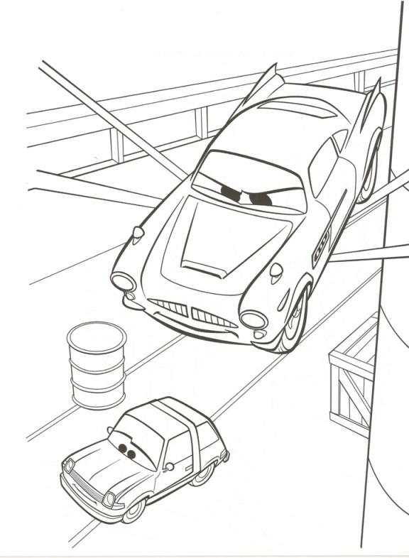 carros imagens para colorir