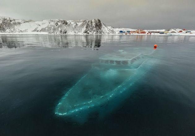 Misteri Kapal Hantu di Laut Antartika