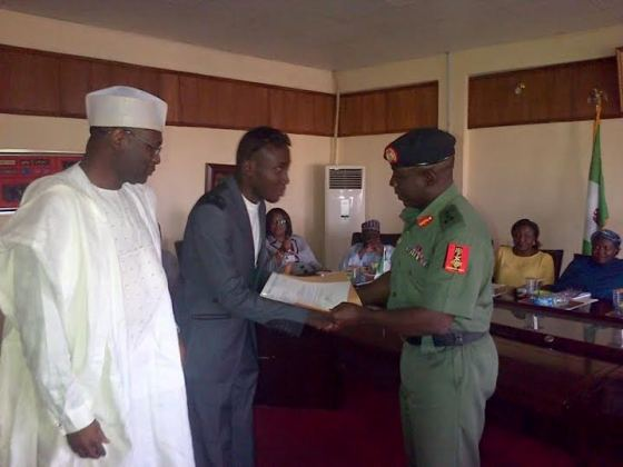 INEC Offer automatic employment to an Ex-Corps member Blind victim Oluwatobi Daniel 4444