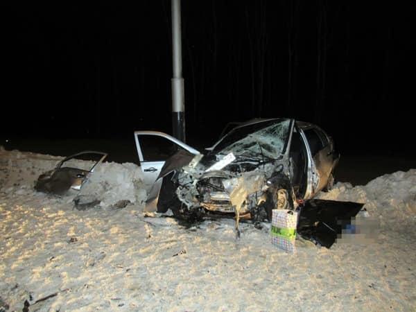 В Салавате произошла авария, в которой погиб молодой парень