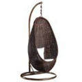Rattan Hanging Chair with Stand