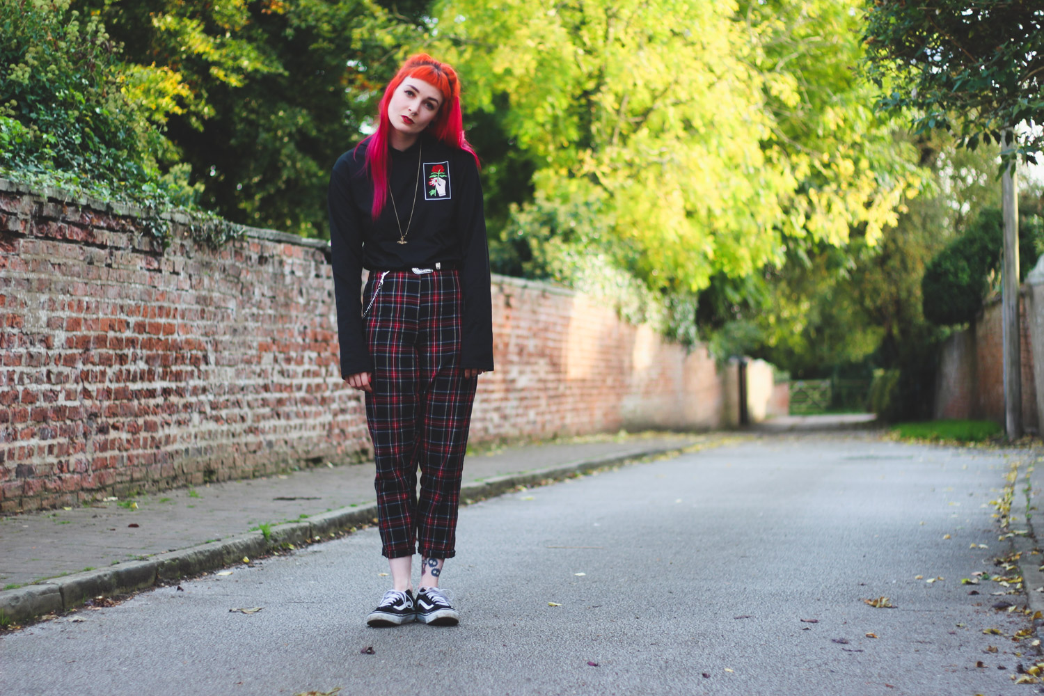 Alternative Style Blogger Foxxtailz in Romwe