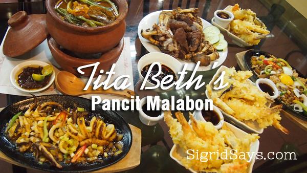 Tita Beth's Pancit Malabon - Bacolod restaurants