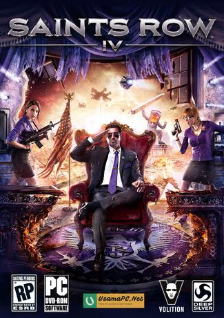 Saints Row 4 Cover CD / DVD
