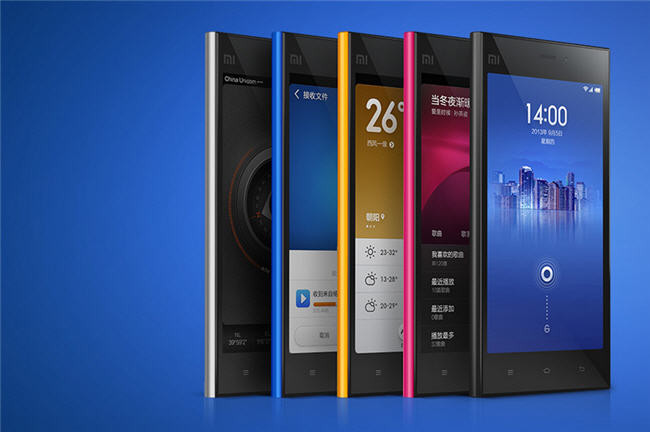 Xiaomi Mi 3 Specifications - LAUNCH Announced 2013, September DISPLAY Type IPS LCD capacitive touchscreen, 16M colors Size 5.0 inches (~65.0% screen-to-body ratio) Resolution 1080 x 1920 pixels (~441 ppi pixel density) Multitouch Yes Protection Corning Gorilla Glass 3 BODY Dimensions 144 x 73.6 x 8.1 mm (5.67 x 2.90 x 0.32 in) Weight 145 g (5.11 oz) SIM Mini-SIM PLATFORM OS Android OS, v4.3 (Jelly Bean), upgradable to v4.4.2 (KitKat), planned upgrade to v6.0 (Marshmallow) CPU Quad-core 2.3 GHz Krait 400 Chipset Qualcomm MSM8274AB Snapdragon 800 GPU Adreno 330 MEMORY Card slot No Internal 16/64 GB, 2 GB RAM CAMERA Primary 13 MP, f/2.2, 28mm, autofocus, dual-LED flash Secondary 2 MP, f/2.2, 1080p@30fps Features Geo-tagging, touch focus, face/smile detection, HDR Video 1080p@30fps, HDR NETWORK Technology GSM / HSPA 2G bands GSM 850 / 900 / 1800 / 1900 3G bands HSDPA 850 / 900 / 1900 / 2100 Speed HSPA 42.2/5.76 Mbps GPRS Yes EDGE Yes COMMS WLAN Wi-Fi 802.11 a/b/g/n, dual-band, Wi-Fi Direct, hotspot NFC Yes GPS Yes, with A-GPS, GLONASS USB microUSB v2.0, USB Host Radio FM radio FEATURES Sensors Sensors Accelerometer, gyro, proximity, compass, barometer Messaging SMS(threaded view), MMS, Email, Push Mail, IM Browser HTML5 Java No SOUND Alert types Vibration; MP3, WAV ringtones Loudspeaker Yes 3.5mm jack Yes BATTERY  Non-removable Li-Ion 3050 mAh battery Stand-by Up to 500 h  Talk time Up to 25 h Music play Up to 50 h MISC Colors White, Gray, Black, Yellow, Pink, Blue, Gold, Green (16 GB) SAR US - MIUI 5.0 - Fast battery charging: 60% in 30 min (Quick Charge 2.0) - Active noise cancellation with dedicated mic - MP4/DivX/XviD/WMV/H.264 player - MP3/WAV/eAAC+/FLAC player - Photo/video editor - Document viewer  - Voice memo/dial/commands
