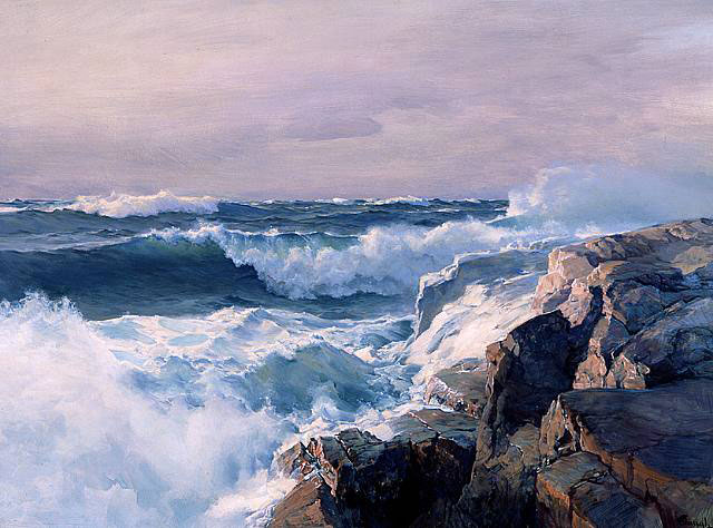 Stapleton Kearns: A seascape lesson