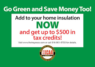 $500 tax credits home insulation ad