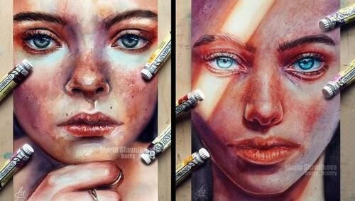 00-Watercolor-Portraits-Maria-Slavnikova-www-designstack-co