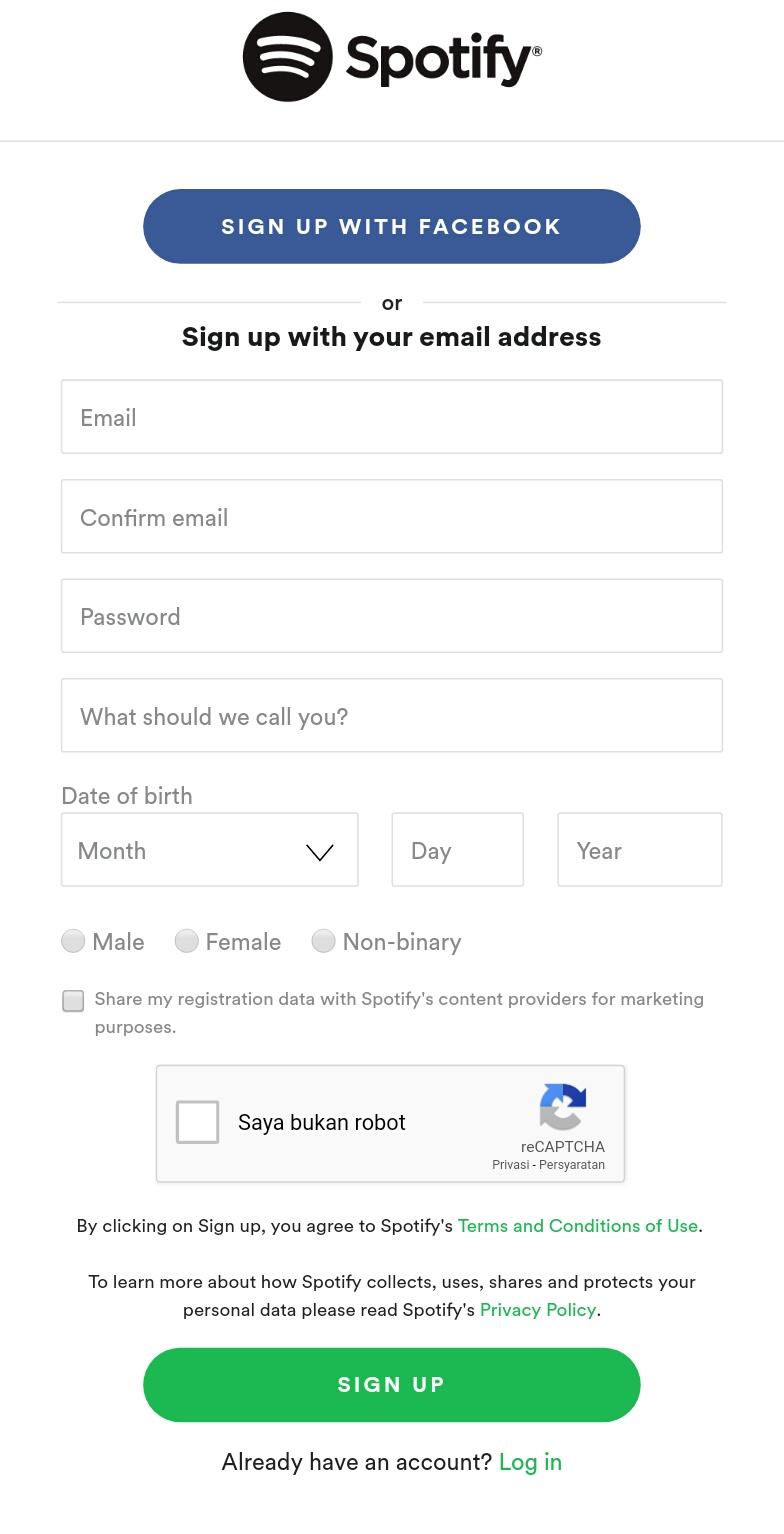 Lihat Cara Memasukan Kode Premium Spotify paling mudah