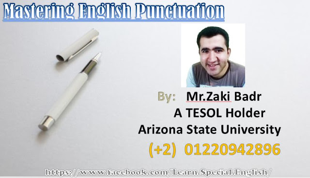 English Punctuation Course