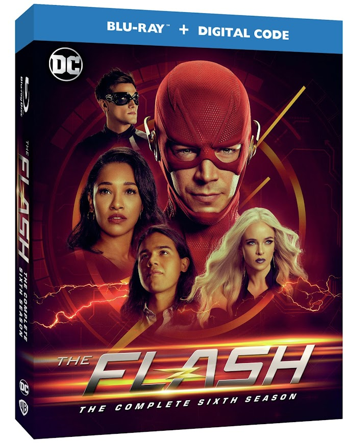 The Flash: The Complete Sixth Season - The Electrifying Season Comes To Blu-ray & DVD on August 25th! (Warner Bros.)