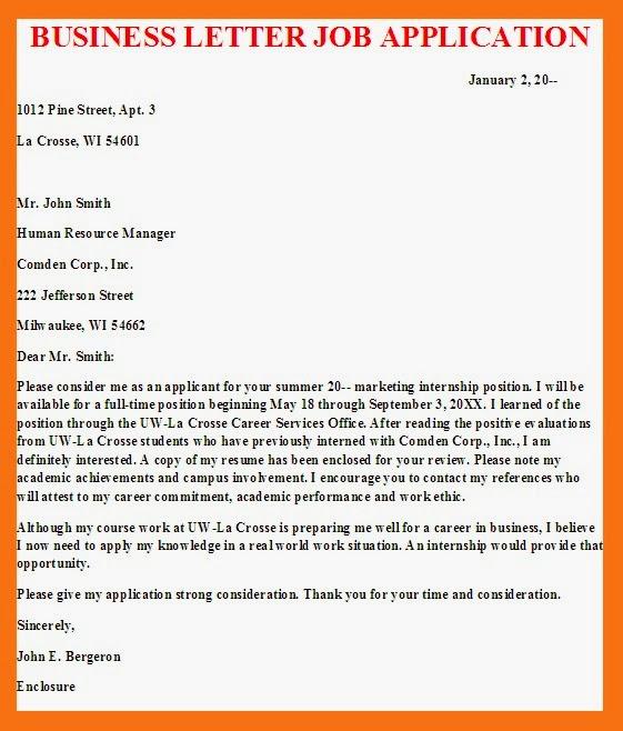 business%2Bletter%2Bjob%2Bapplication Application Letter For A Company Sample on letter format for application, sample letter job description, template for application, sample letter human resources, sample letter welcome, cover letter for application, sample letter inspection,