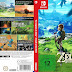 Capa The Legend Of Zelda Breath Of The Wild Nintendo Switch