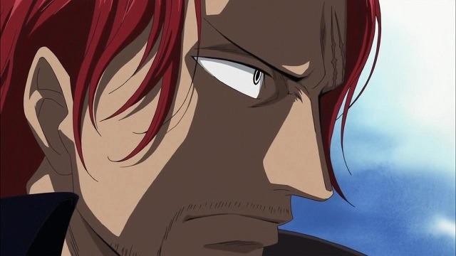 shanks si rambut merah