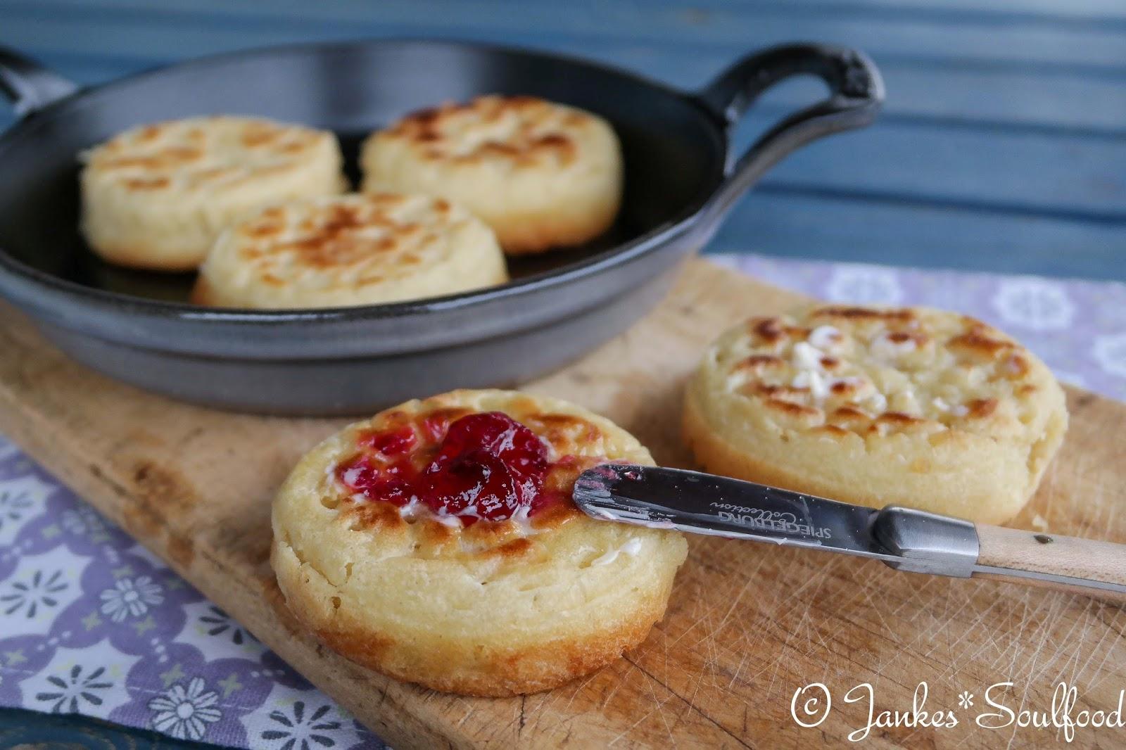 englische Brotfladen