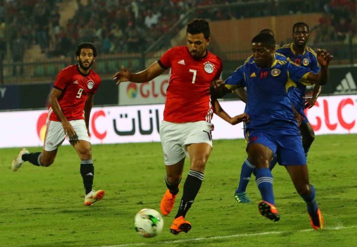 ملخص مباراة مصر والنيجر اليوم السبت 23-3-2019 انتهت المباراة بالتعادل الإيجابي 1-1