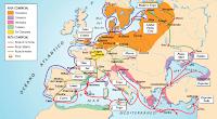 Las rutas comerciales entre Europa y Asia