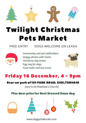 Twilight Christmas Pets Market Cheltenham December 2016 Poster