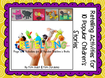 https://www.teacherspayteachers.com/Product/Retelling-Comprehension-Strategy-By-Kim-Adsit-and-Kimberly-Jordano-2886651