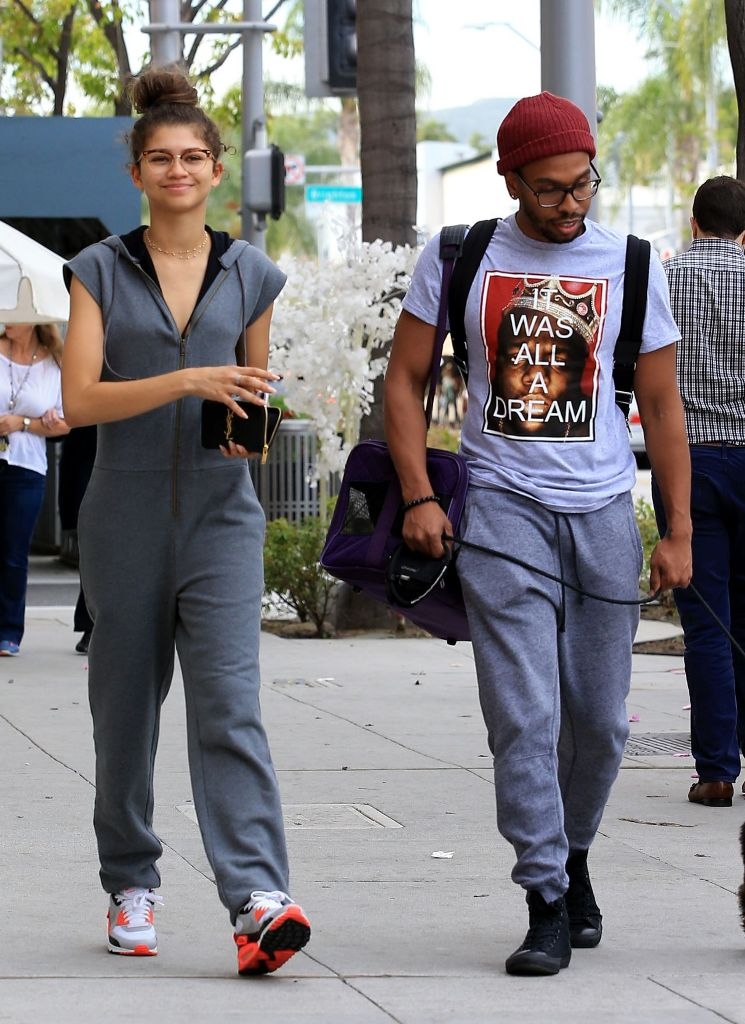 Zendaya Street Style Out in Los Angeles