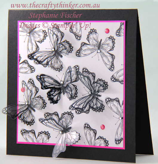 #thecraftythinker #stampinup  #cardmaking  #rubberstamping  #saleabration #butterflygala , Sale-A-Bration, Butterfly Gala, Botanical Butterfly, Stampin' Up Australia Demonstrator, Stephanie Fischer, Sydney NSW