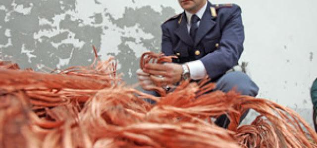 Apricena (FG), la Polfer arresta pregiudicato per furto di rame
