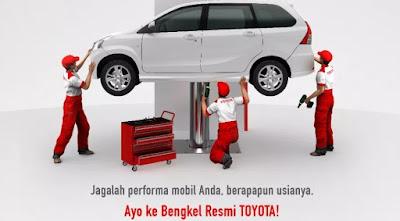 Bengkel resmi Toyota Aceh