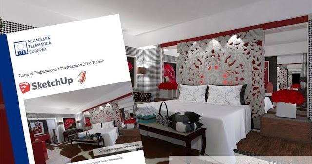 Gravit zero corsi di interior design con modellazione for Corsi per arredatori
