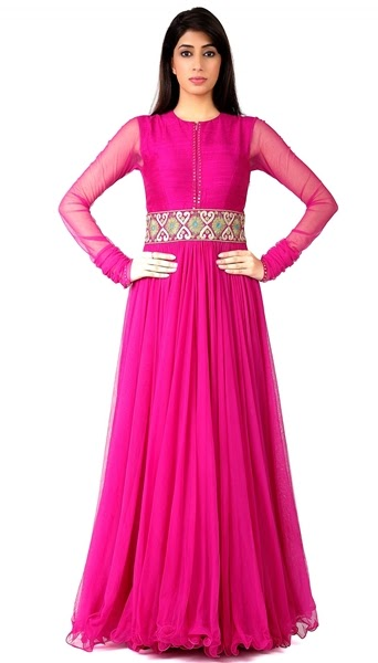 Ankle Length Long Anarkali Suit Formal Floor Length