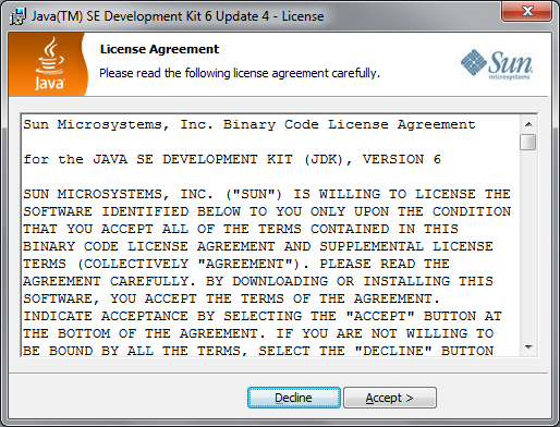 Tutorial By Example: How to Install Java 6 update 4 (jdk-6u4-windows