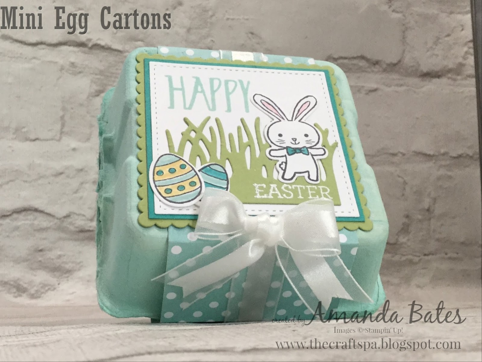 Basket Bunch Mini Egg Carton and Happy