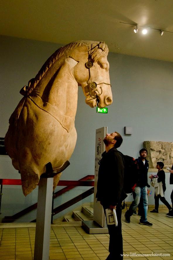 British museum, grecki koń
