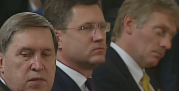 Putin's Media aide falls asleep during Russia-Turkey meeting