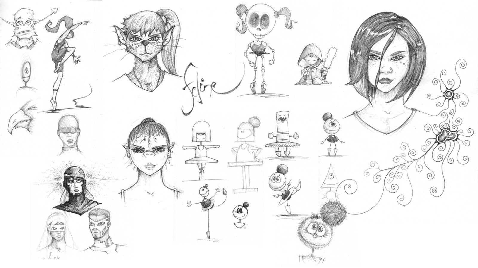Dance-ish Sketches