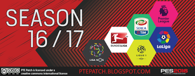 Free Download PES 2016 – PTE Patch 6.0 Full Version Terbaru Gratis