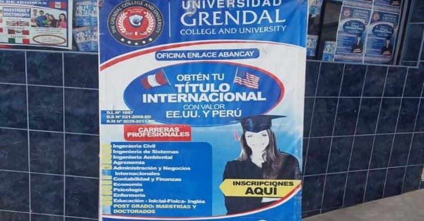 SUNEDU detecta universidad informal que operaba en Apurímac y Loreto - www.sunedu.gob.pe