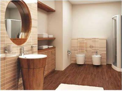 Bathroom Design Ideas Dark Wood