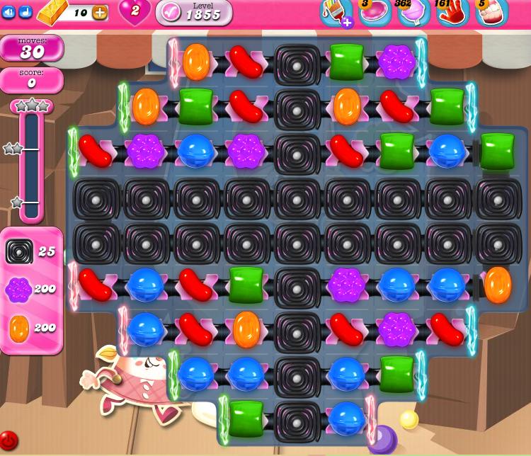 Candy Crush Saga 1855