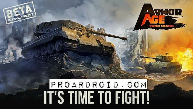 لعبة حرب الدبابات Armor Age: Tank Wars v1.6.240 نسخة كاملة للأندرويد logo