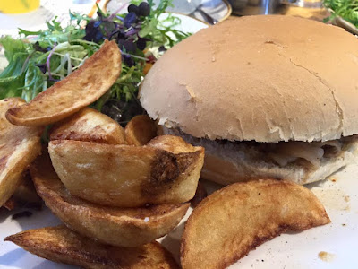 Fodder Food Hall & Cafe | A Service Station alternative near Harrogate - pork sandwich and homemade chips