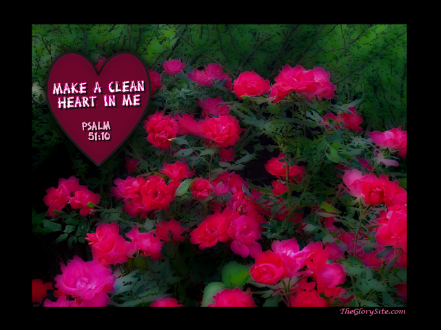 Make a Clean Heart in Me - Prayer Wallpapers